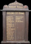 Geelong City Band Honor Band