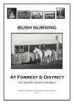 Bush Nursing at Forrest & District