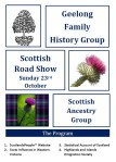 Geelong Family History Group Scottish Road Show